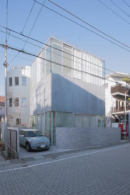 Villa in Hayama  - SANAA: Architecture Sanaa, Building 01, Fav Architects, Architecture Japan, Photo, Ideas Architecture