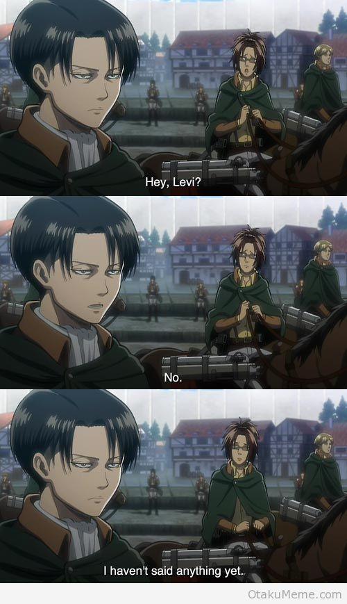 These two are perfect..........for each other ;) | Levi & Hanji Zoe | LeviHan | Attack on titan / aot / Shingeki no Kyojin / snk ova | Anime manga scouting legion | Funny humor lol