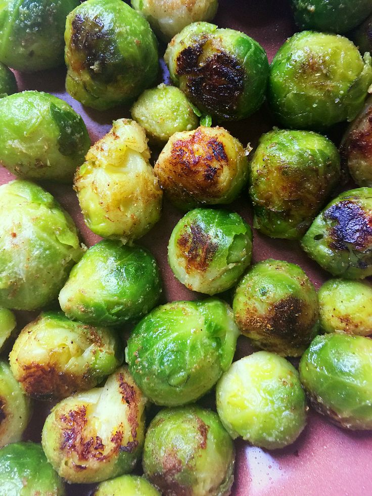 Garam Masala Brussels Sprouts {Vegan + GF} | Whisk and Shout