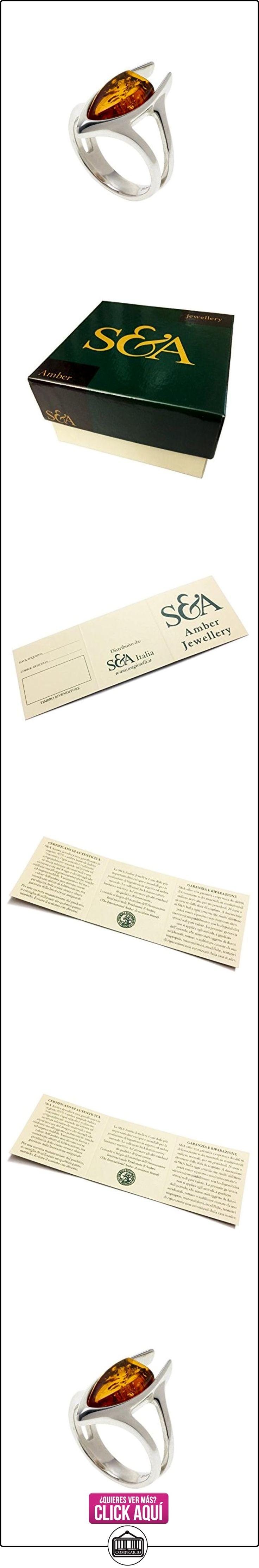 Creazioni Oro Anillo en Plata 925 con Ambar Baltica en forma Piedra de forma irregular  ✿ Joyas para mujer - Las mejores ofertas ✿ ▬► Ver oferta: http://comprar.io/goto/B01FAGUDLO