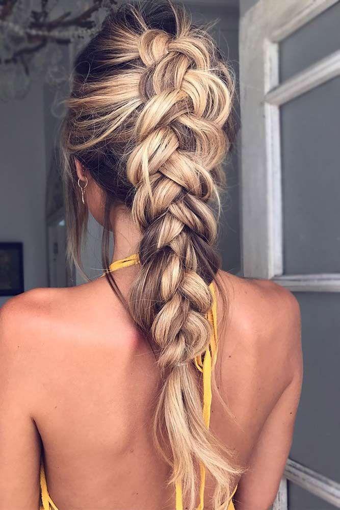 27 Pretty Looks With A Dutch Braid