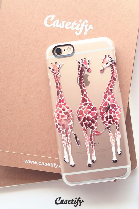 Click through to see more iPhone 6 protective phone case designs by Inslee by Design >>> https://www.casetify.com/insleebydesign/collection #animal | @casetify