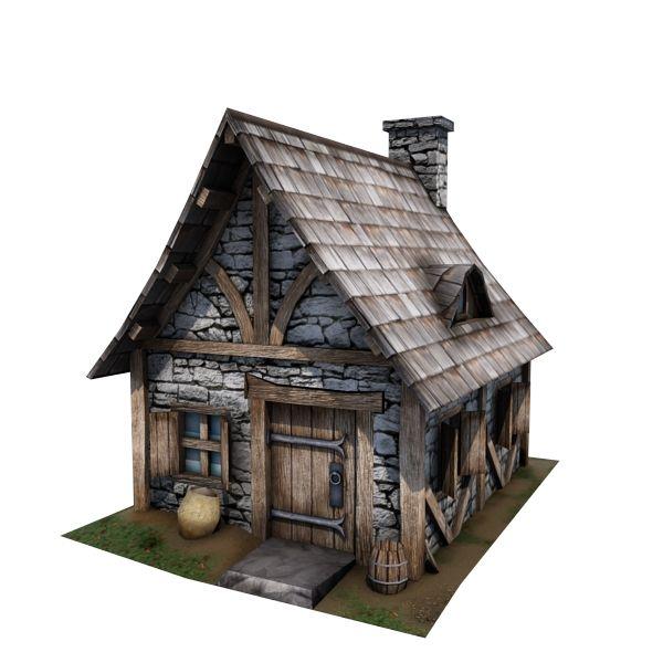 D B A Da D A A Ab Fc Tudor House D Models
