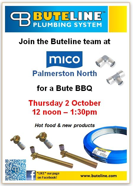 Bute BBQ @ Mico Palmerston North on Thu 2 Oct