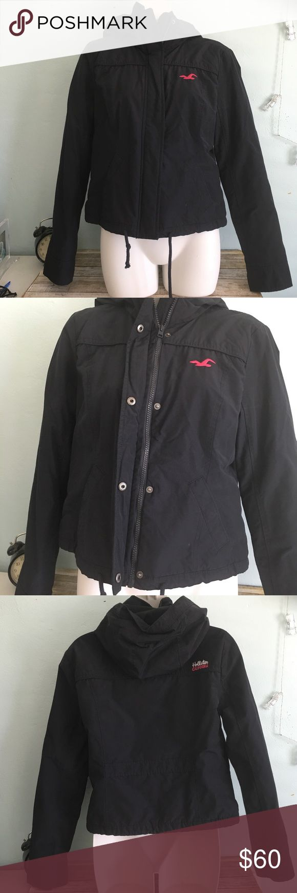 Hollister Jacket Size M Hollister Jacket Size M. Wore once, great for rain. Feel free to ask any questions. :) Hollister Jackets & Coats