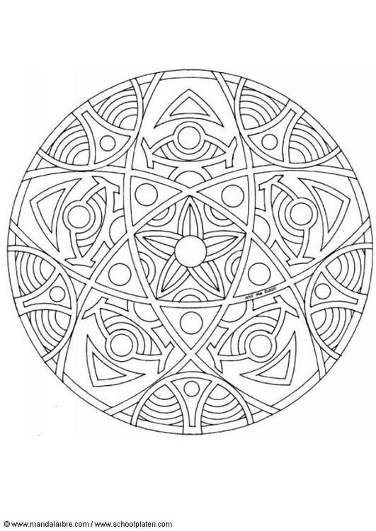 Best 100 Mandalas Images On Pinterest