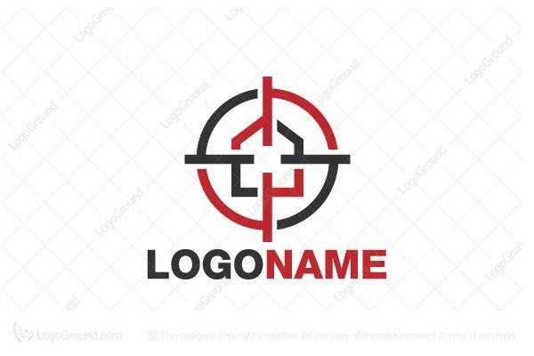 Logo for sale: Target Estate Logo