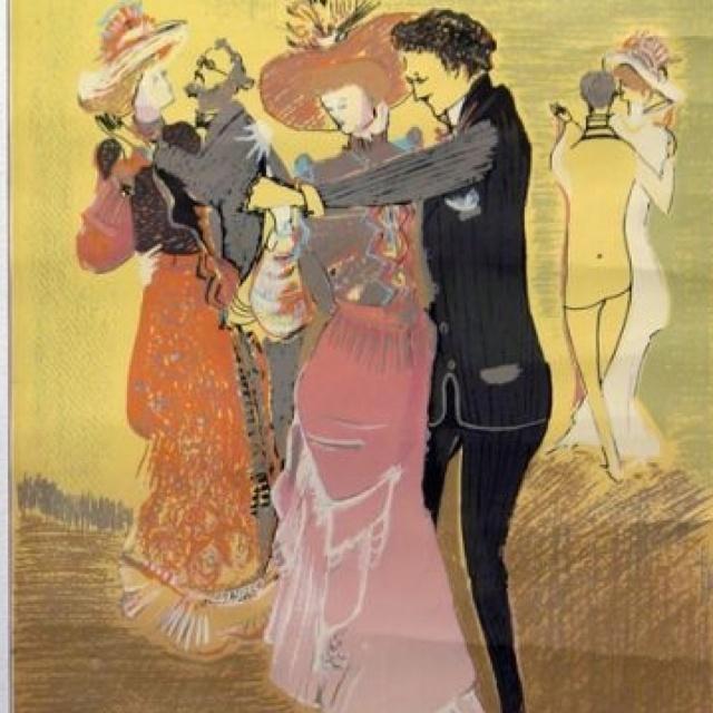 El Tango en Paris : Raúl Soldi