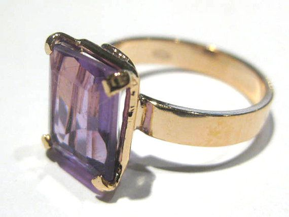 amethyst ring di giacobbi su Etsy #amethyst #ring #ametista #anelli #jewellery