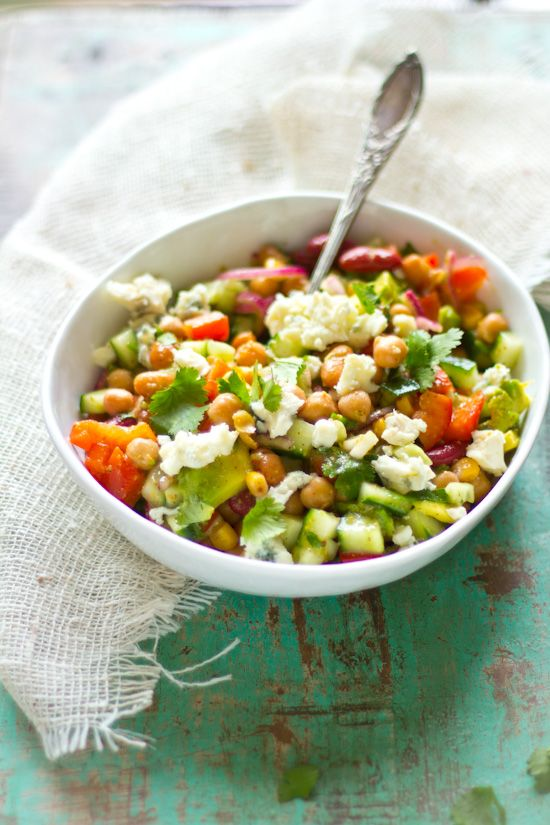 Bonen salade met gorgonzola recept