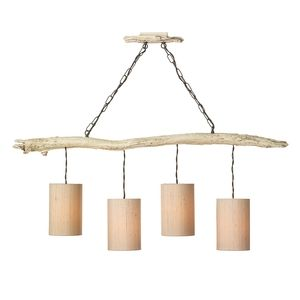 Driftwood 4 Light Pendant