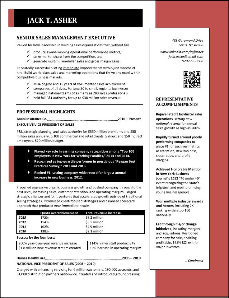 National Award Winning Executive Resume Examples, Executive Cover Letter  Examples, Infographic Resume Examples, Executive Biography Examples, And