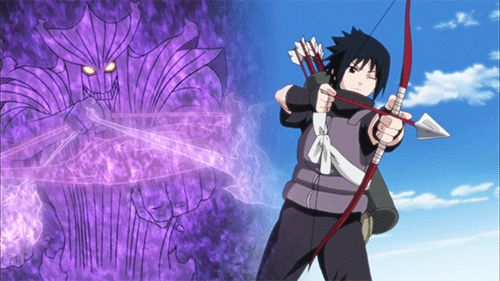 naruto shippuden sasuke eternal mangekyou sharingan susanoo - Google Search