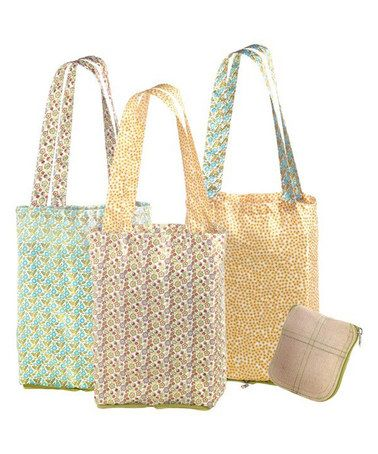 Another great find on #zulily! Farmers Market Tote Set by Grasslands Road #zulilyfinds