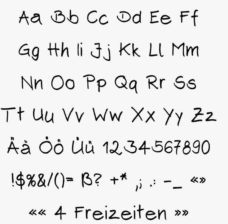 Wie meine Handschrift in den Computer kam (Font erstellen)