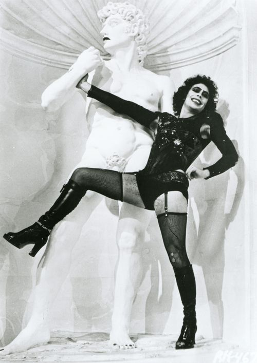 Rocky Horror Picture show, one of my favourite all time movies and mild obsession