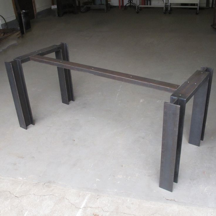 I Beam Table Base Raw Mill Steel Steel Table Table