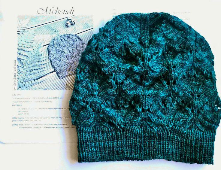 #mehendi czapka mehendi hat, magicloop kolorlove