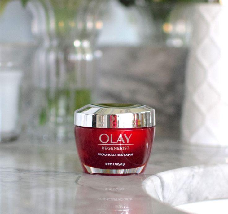 The Best Anti-Aging Moisturizer: Olay Regenerist Micro-Sculpting Cream