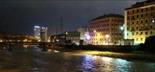 Genova prima del nubifragio annunciato