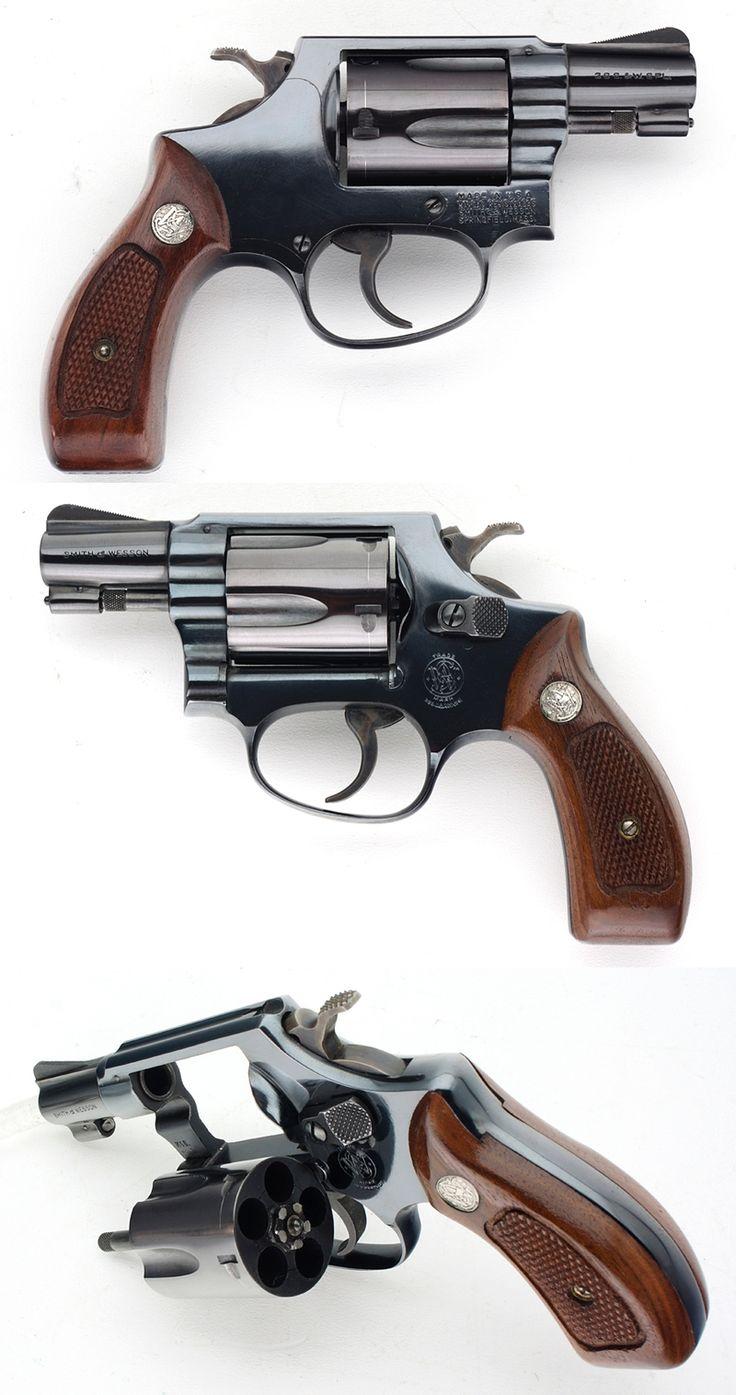 SMITH & WESSON S&W MODEL 36 CHIEFS SPECIAL 38 SPL REVOLVER 1-7/8 INCH BARREL Item: 11636384 | Mobile GunAuction.com