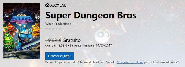 Promoción: #juego Super Dungeon Bros para PC #gratis en septiembre - https://chollos-ofertas.blogspot.com/2017/08/juego-super-dungeon-bros-para-pc-gratis.html