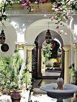 Image result for spanish Courtyards and Patios