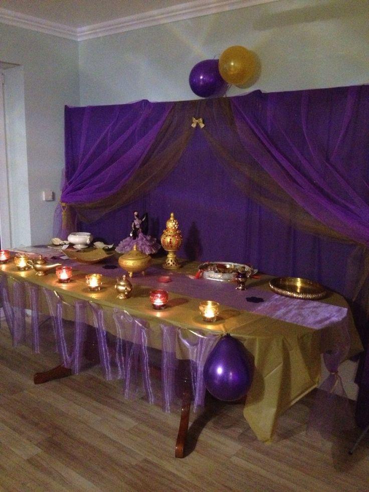 Arabian nights/ 1001 Nacht/ Henna Abend Dekoration / Orientalische Party Deko