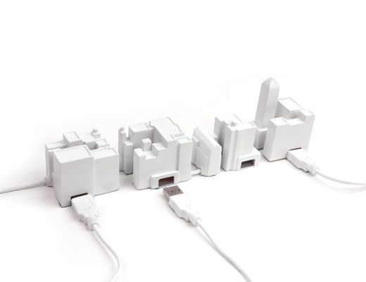 USB Hub for the Lonely City by David Weeks