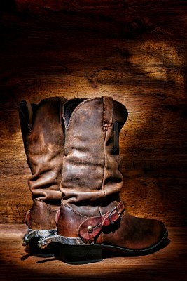 Google Image Result for http://us.123rf.com/400wm/400/400/olivierl/olivierl1111/olivierl111100034/11355207-american-west-rodeo-cowboy-traditional-leather-boots-with-authentic-western-riding-spurs-over-vintag.jpg