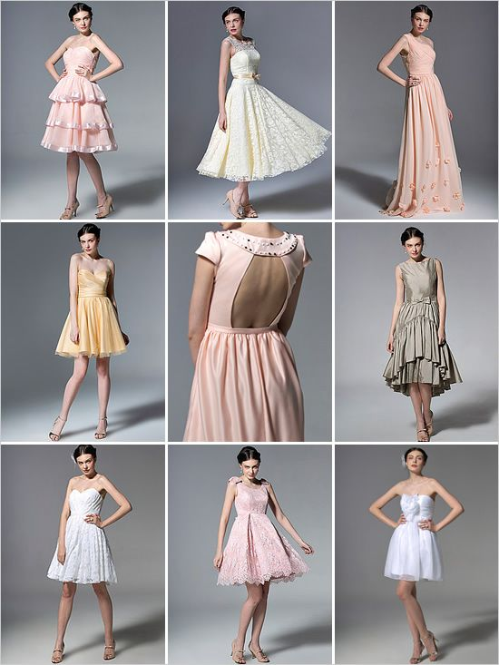 vintage bridesmaid dresses from For Her And For Him