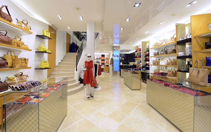 Client: Longchamp Location: Strasbourg  Design: Longchamp Year: 2013 #interior #shopfitting #retail #shop #store #longchamp #Strasbourg #design