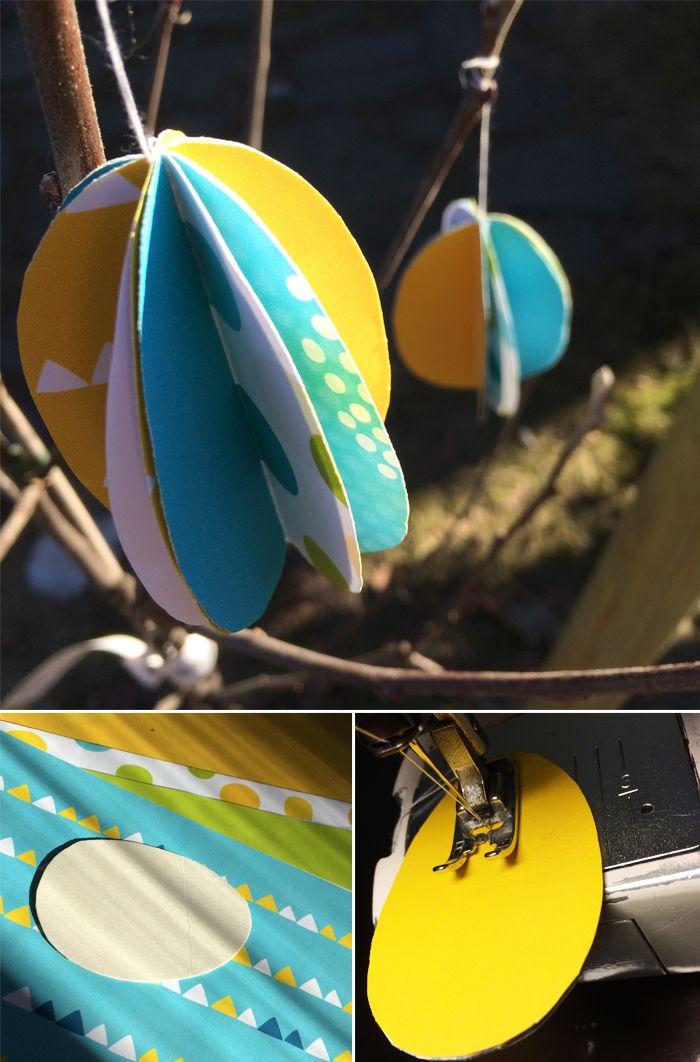 Paperimuna. lasten | askartelu | pääsiäinen | käsityöt | koti | paperi | DIY ideas | kid crafts | Easter | home | paper crafts | Pikku Kakkonen