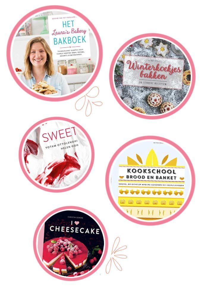 Welke bakboeken van het najaar 2017 moet er op jouw verlanglijstje zetten? Wij delen onze vijf favoriete bakboeken waar je deze winter mee vooruit kunt.