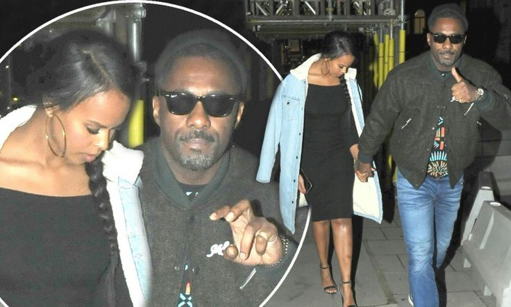 He is rumoured to have been dating the former Miss Vancouver for the past six months.   And Idris Elba, 45, certainly looked loved up as he stepped out hand-in-hand with beauty queen Sabrina Dhowre, 29, at The Fashion Awards afterparty at 180 The Strand in London on Monday night.  The Luther actor looked effortlessly cool in blue denim jeans, a neon patterned T-shirt and a puff style jacket, as well as sunglasses, as he led his girlfriend to the star-studded bash.