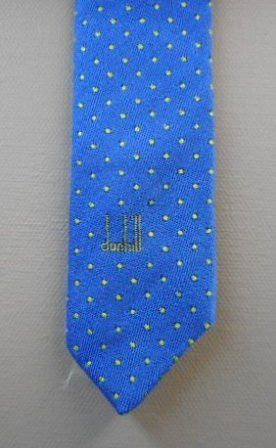 Discreet Dunhill tie