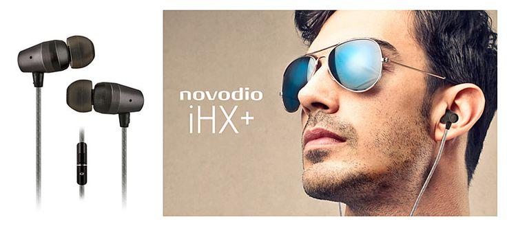NOUVEAUTE NOVODIO : écouteurs intra-auriculaires avec micro et télécommande - #accessoires #high #tech #technologie #audio #musique #ecouteurs #Novodio #Macway