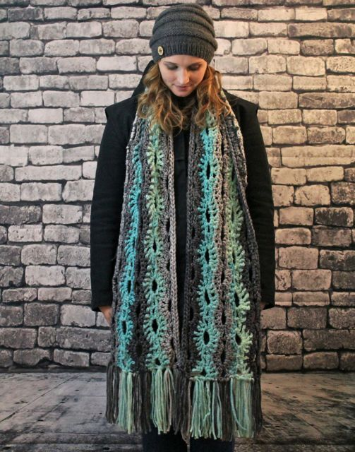 Super scarves are where it's AT this season. Must have! #aquascarf #superscarf #megascarf