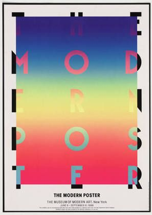 MoMA | The Collection | Koichi Sato. The Modern Poster, The Museum of Modern Art, New York. 1988
