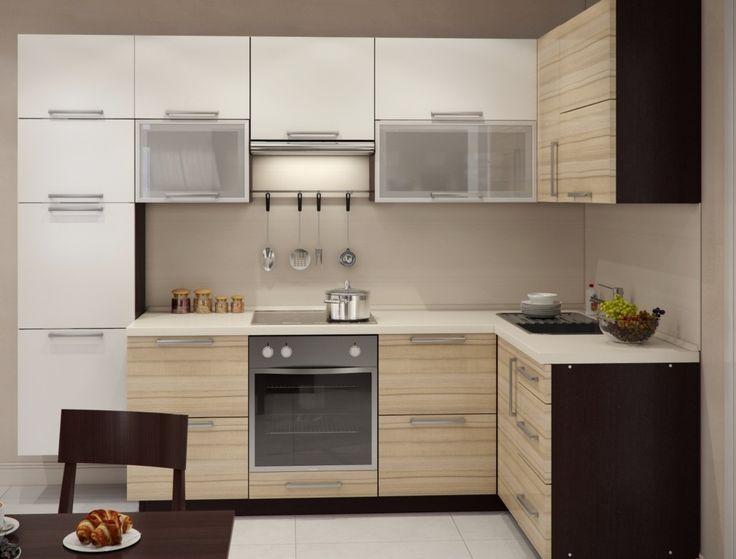 г-образные светлые кухни из массива фото: 20 тыс изображений найдено в Яндекс.Картинках