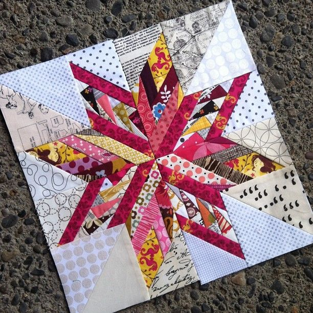 "50 Fabulous Paper Pieced Stars. Mixture of Ohio Star and Oklahoma Star. Stars are from book ""50 Fabulous Paper-Pieced Stars"" by Carol Doak"