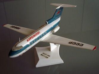 YAK 40 (JAK 40) by VEB Plasticart. Details: http://pufiland.weebly.com/planes.html