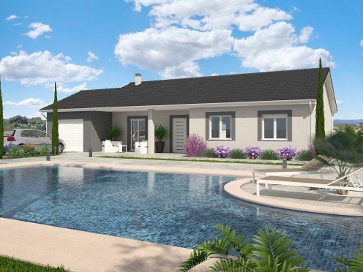 programme de construction de maison individuelle moderne pr s de bourg en bresse dans le. Black Bedroom Furniture Sets. Home Design Ideas