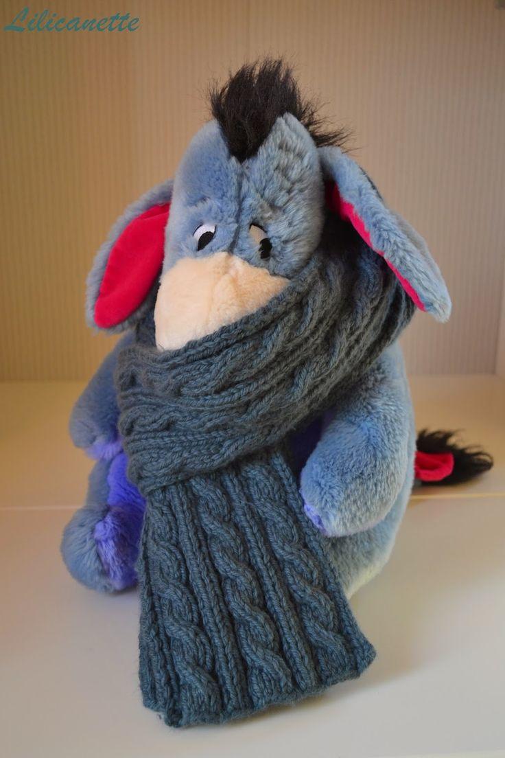 tricot écharpe homme torsades                                                                                                                                                                                 Plus