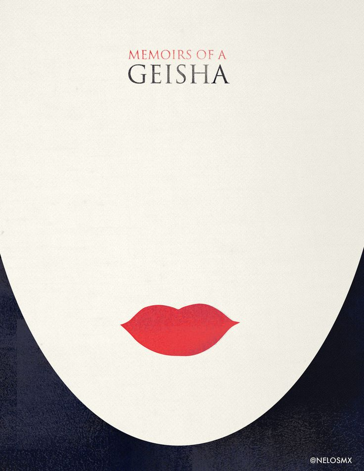 Minimalist Movie Poster - Memories of a Geisha by nelos on DeviantArt