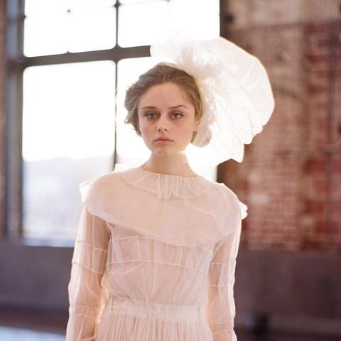 Silk Bridal Pouf