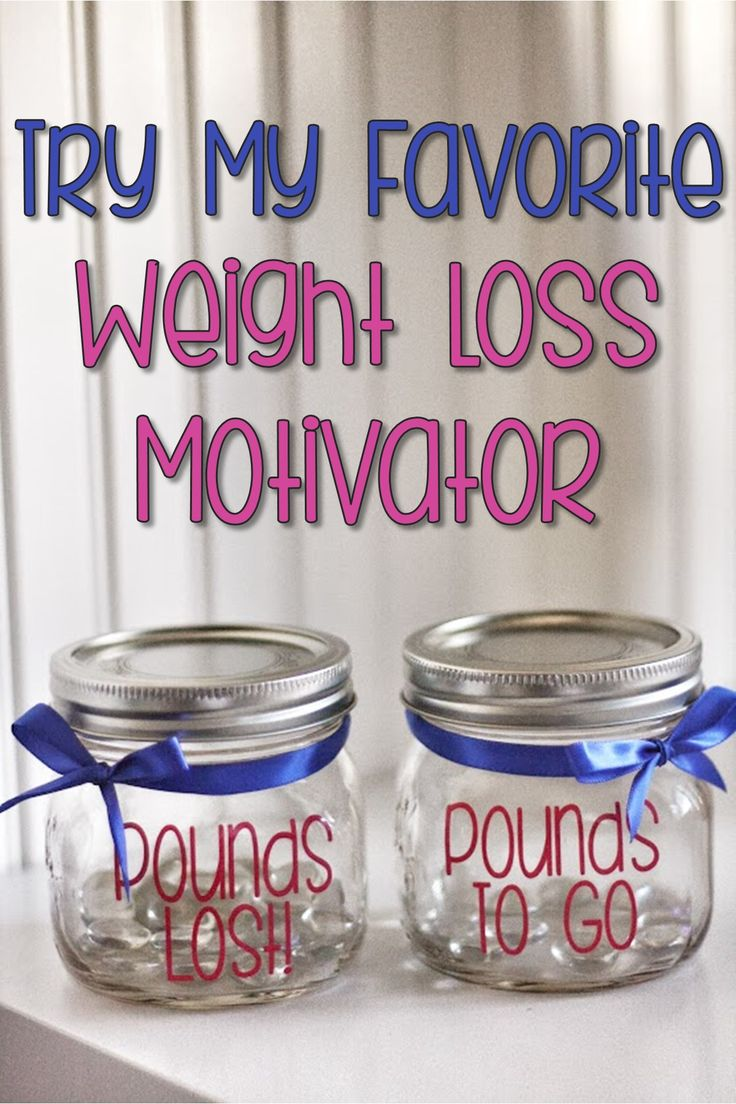 Weight Loss Motivation Jar