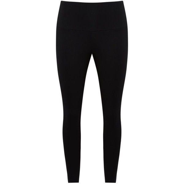 Lygia & Nanny leggings ($81) ❤ liked on Polyvore featuring pants, leggings, black, lycra pants, high rise leggings, high rise trousers, high-waisted pants and legging pants