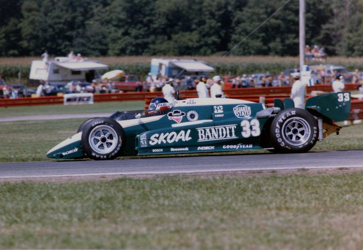 Corrado Fabi - Lola T800 Cosworth - Forsythe Racing - Escort Radar Warning 200 - 1984 PPG Indy Car World Series, round 11