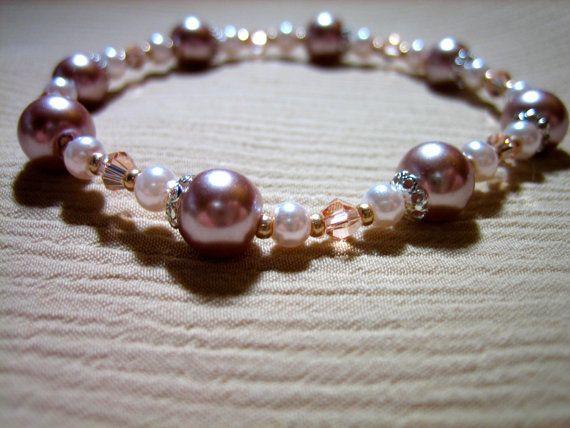 Sidalcea Bracelet by Wintergarten on Etsy, $12.00